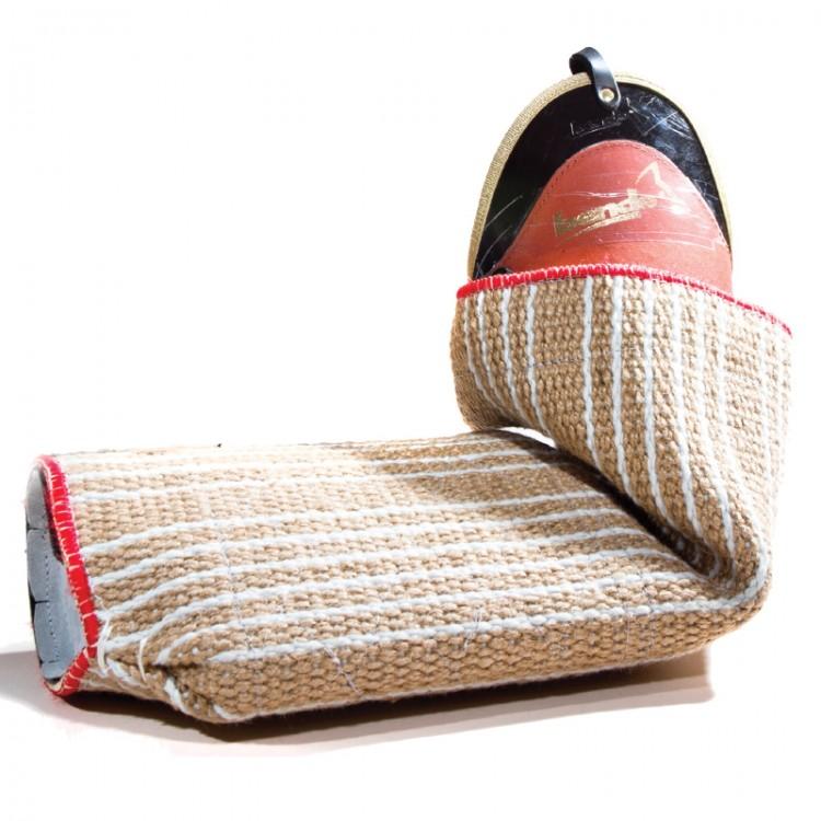 Bende - Junghundearm mit normaler Beißfläche Jute