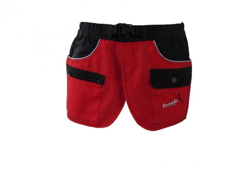 Bende - Arbeitskilt, rot-schwarz