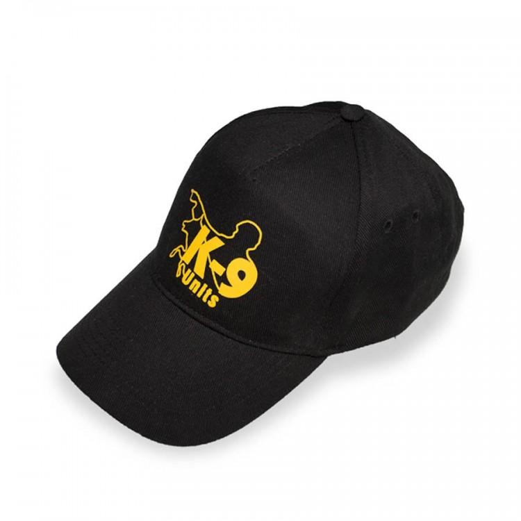 K9 - Kappe, schwarz