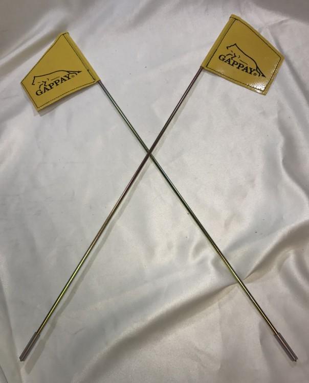 Gappay - Flagge für Fährtenabgang