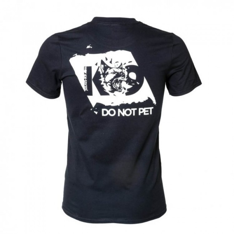 K9  - T-Shirt schwarz, DO NOT PET