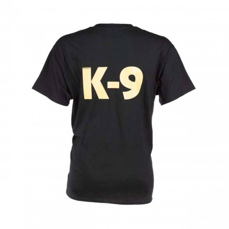 K9 - T-Shirt, schwarz