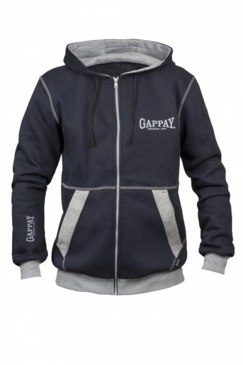 Gappay - Zippersweater Relax mit Kapuze für Männer
