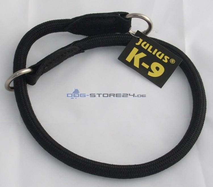 K9 - Nylon-Rundwürger , schwarz - 10mm