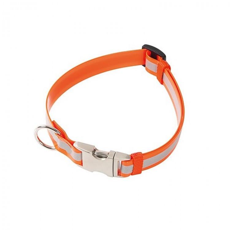 Klin - Biothane Halsband, reflektierend