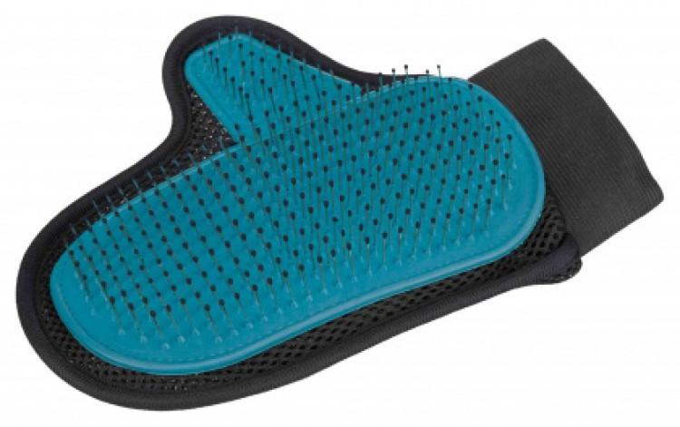 TRIXIE - Fellpflege-Handschuh mit Metallborsten