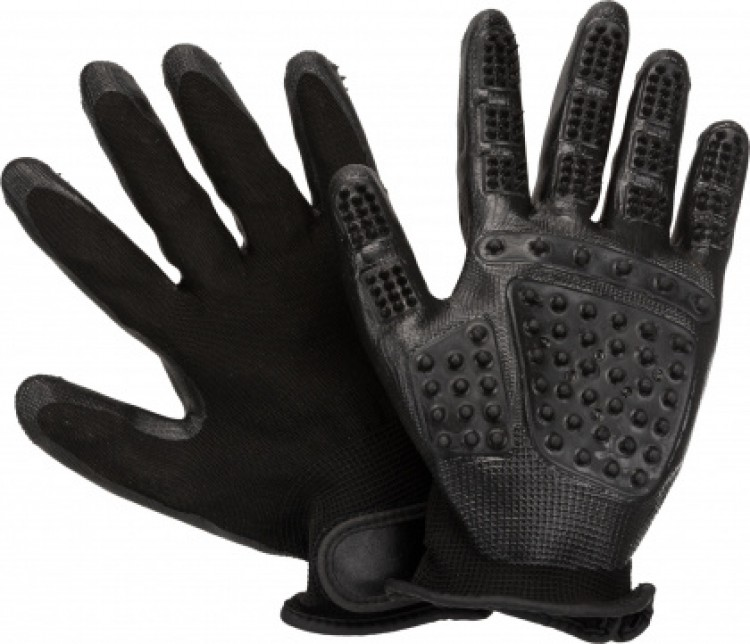 TRIXIE - Fellpflege-Handschuhe, 1 Paar