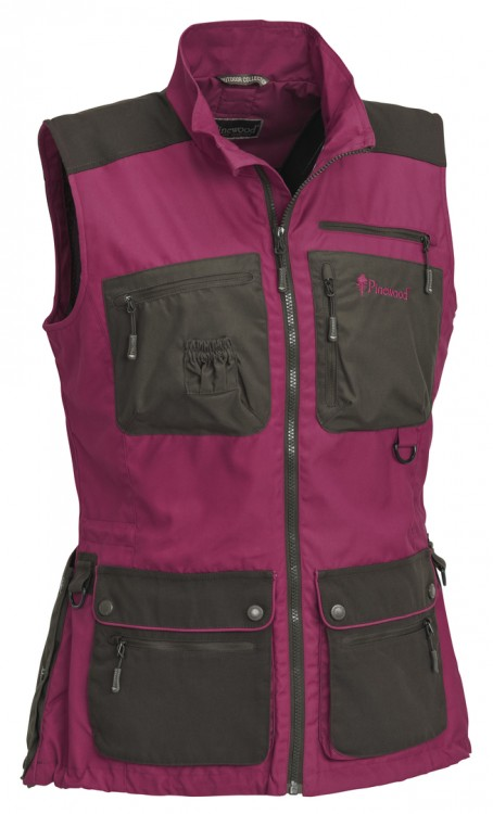 Pinewood - New Dog Sports Weste, Damen - Fuchsia