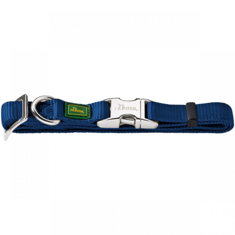 Hunter - Halsung Vario Basic Alu-Strong - blau