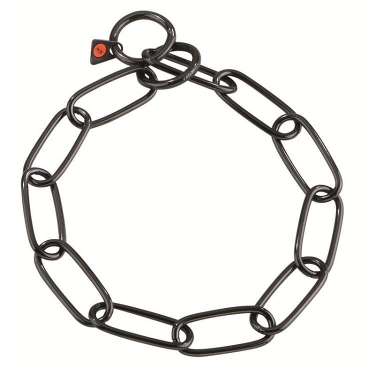 Herm. Sprenger - Halskette Edelstahl brüniert - 4mm