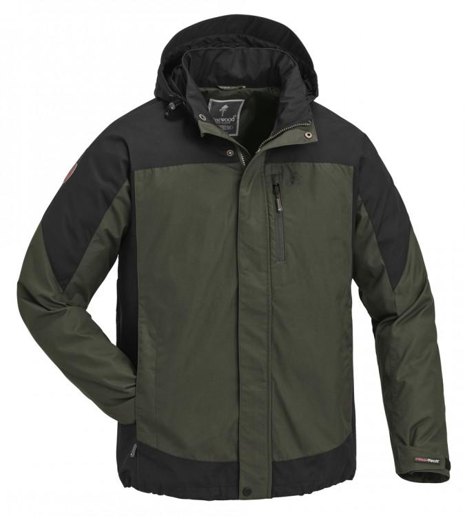 Pinewood - Caribou TC Extrem Jacke, mossgreen/black