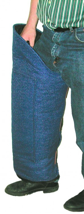 Schweikert - Beinschutz Baumwolle/Synthetik
