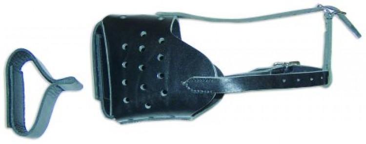 Schweikert - Verbellkorb mit Leder- und Gummipolster