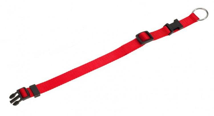 Karlie - Nylon-Halsband Basic Click, rot