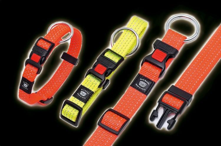 Karlie - Art Sportiv Plus Reflex Halsband - gelb