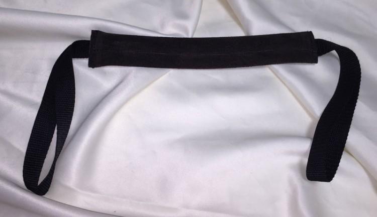 Beißwurst Leder flach - 25cm, 2H