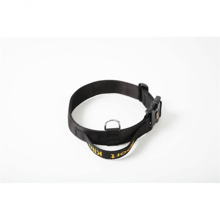 Klin - Hetzhalsband aus Gurtband mit Griff