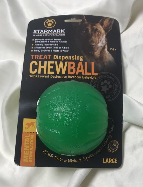 STARMARK - Treat Dispensing Chew Ball L
