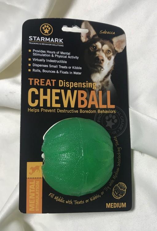 STARMARK - Treat Dispensing Chew Ball S
